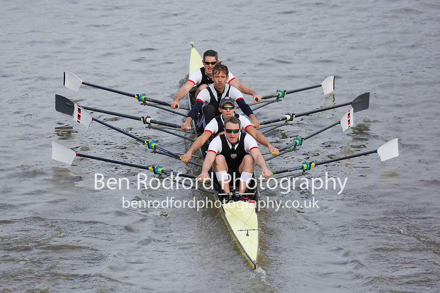 Crew: 3  Thames  B 4x<br /> <br /> Veteran Fours Head 2018<br /> <br /> To purchase this photo, or to see pricing information for Prints and Downloads, click the blue 'Add to Cart' button at the top-right of the page.