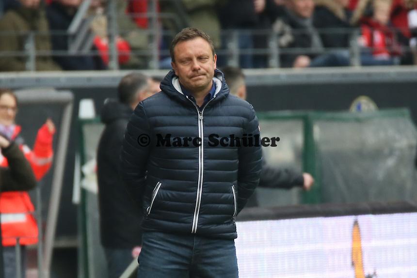 Trainer Andre Breitenreiter (Paderborn) - Eintracht Frankfurt vs. SC Paderborn 07, Commerzbank Arena