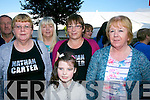 Mary O'Rahilly, Ann Rice, Elaine O'Halloran, Helen O'Connor, Isabelle Brosnan at the Nathan Carter concert in the Dome on Thursday