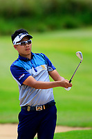 xxxxxxx in action during the first round of the Afrasia Bank Mauritius Open played at Heritage Golf Club, Domaine Bel Ombre, Mauritius. 30/11/2017.<br /> Picture: Golffile | Phil Inglis<br /> <br /> <br /> All photo usage must carry mandatory copyright credit (&copy; Golffile | Phil Inglis)