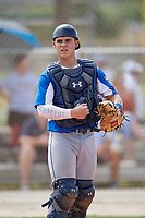 Alek Boychuk (12) during the WWBA World Championship at the Roger Dean Complex on October 13, 2019 in Jupiter, Florida.  Alek Boychuk attends Mill Creek High School in Buford, GA and is committed to South Carolina.  (Mike Janes/Four Seam Images)