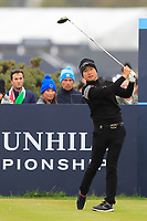 Jeunghun  Wang (KOR) on the 4th tee during Round 4 of the Alfred Dunhill Links Championship 2019 at St. Andrews Golf CLub, Fife, Scotland. 29/09/2019.<br /> Picture Thos Caffrey / Golffile.ie<br /> <br /> All photo usage must carry mandatory copyright credit (© Golffile | Thos Caffrey)