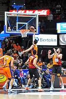 Rivas<br /> Euroleague - 2014/15<br /> Regular season Round 7<br /> Valencia Basket vs Galatasaray