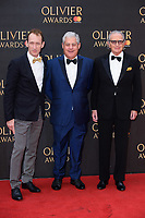 Cameron MacKintosh arriving for the Olivier Awards 2018 at the Royal Albert Hall, London, UK. <br /> 08 April  2018<br /> Picture: Steve Vas/Featureflash/SilverHub 0208 004 5359 sales@silverhubmedia.com