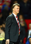 Louis Van Gaal, manager of Manchester United following defeat - Manchester United vs Norwich City - Barclays Premier League - Old Trafford - Manchester - 19/12/2015 Pic Philip Oldham/SportImage