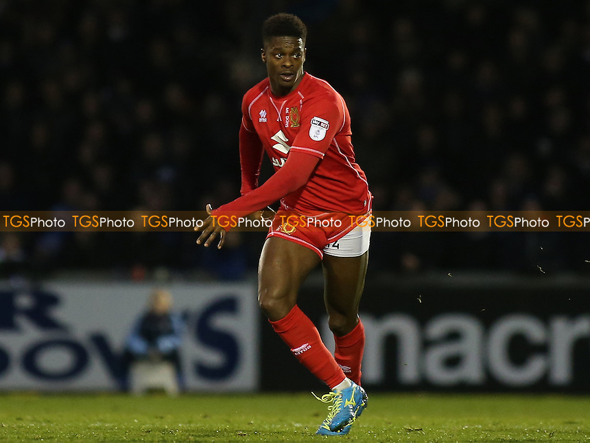 Kieran Agard of MK Dons during Bristol Rovers vs MK Dons, Sky Bet EFL League 1 Football at the Memorial Stadium on 19th November 2016