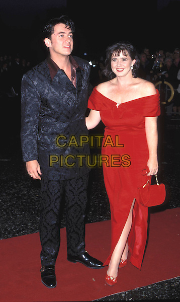 SHANE RITCHIE & (EX WIFE) COLEEN NOLAN.SHANE RICHIE.Ref: 6508.red dress, full length, full-length.www.capitalpictures.com.sales@capitalpictures.com.© Capital Pictures