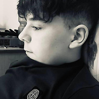 Pictured: A picture of Carson Price, posted by his mum Tatum Price on a social media tribute.<br /> Re: A 13-year-old boy, named locally as Carson Price,  has died after being found unconscious in Ystrad Mynach Park, Caerphilly County, at about 7.20pm on Friday 12 April.<br /> The teen was taken to University Hospital of Wales in Cardiff where he was pronounced dead.