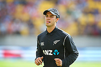 Blackcaps Mark Chapman during the third ODI cricket match between the Blackcaps & England at Westpac stadium, Wellington. 3rd March 2018. © Copyright Photo: Grant Down / www.photosport.nz