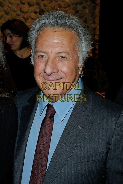 "Dustin Hoffman .Premiere of ""Quartet"" in the German Opera Berlin, Germany..January 20th, 2013.headshot portrait grey gray suit blue shirt red tie  .CAP/UNT.©Unit2/Capital Pictures"