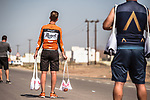 The feedzone during Stage 5 of the 2018 Tour of Oman running 152km from Sam'il to Jabal Al Akhdhar. 17th February 2018.<br /> Picture: ASO/Muscat Municipality/Kare Dehlie Thorstad | Cyclefile<br /> <br /> <br /> All photos usage must carry mandatory copyright credit (&copy; Cyclefile | ASO/Muscat Municipality/Kare Dehlie Thorstad)