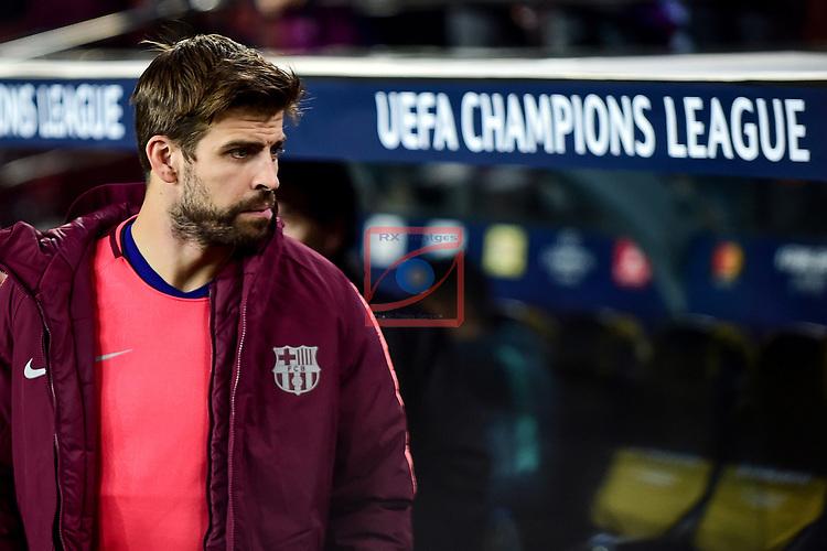 UEFA Champions League 2018/2019 - Matchday 6.<br /> FC Barcelona vs Tottenham Hotspur FC: 1-1.<br /> Gerard Pique.