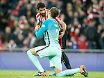 Athletic de Bilbao's Raul Garcia (l) and FC Barcelona's Gerard Pique during Spanish Kings Cup match. January 05,2017. (ALTERPHOTOS/Acero)