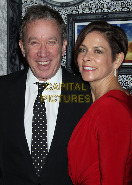 8 February 2014 - Universal City, California - Tim Allen, Jane Hajduk. Family Equality Council's Los Angeles Awards Dinner held at Universal Studios Globe Theater. <br /> CAP/ADM/RE<br /> &copy;Russ Elliot/AdMedia/Capital Pictures