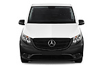 Car photography straight front view of a 2019 Mercedes Benz Vito Select 4 Door Car Van Front View