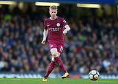 30th September 2017, Stamford Bridge, London, England; EPL Premier League football, Chelsea versus Manchester City; Kevin De Bruyne of Manchester City in action