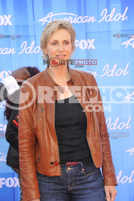 American Idol 2012 Finale Results Show at Nokia Theatre L.A. Live on May 23, 2012 in Los Angeles, California. © mpi35/MediaPunch Inc. Pictured- Jane Lynch