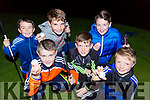 Enjoying the Deerpark Pitch + Putt in the Dark competition in Killarney on Saturday night were front l-r: Fintan Maher, TJ O'Sullivan, Nathan Cronin. back Brian McCarthy, Ryan McCarthy and Jack O'Neill