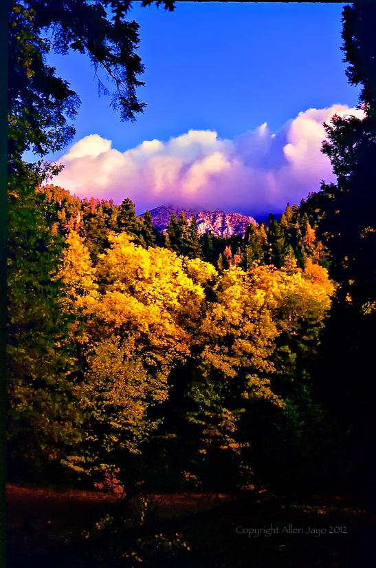GALENA PASS THRU HERE TO THE HIGH COUNTRY SAN GORGONIO WILDERNESS
