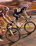 The uptown criterium bike race held in Charlotte NC.