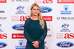 "Lidia Valentin during the ""As sports Awards"" at Palace Hotel in Madrid, Spain. december 19, 2016. (ALTERPHOTOS/Rodrigo Jimenez)"