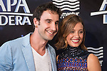 Spanish actor Dani Rovira and spanish actress Michelle Jenner attends to the photocall during the premiere of &quot;Atrapa la Bandera&quot; at Kinepolis Cinema in Madrid, August 26, 2015. <br /> (ALTERPHOTOS/BorjaB.Hojas)