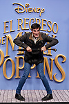 Luis Larrodera attends to Mary Poppins Returns film premiere at Kinepolis in Pozuelo de Alarcon, Spain. December 11, 2018. (ALTERPHOTOS/A. Perez Meca)
