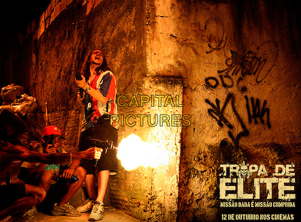 POSTER AD ART.in Tropa de Elite (Elite Squad).*Filmstill - Editorial Use Only*.CAP/FB.Supplied by Capital Pictures.