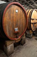 wooden vats domaine roger sabon chateauneuf du pape rhone france