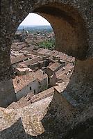 Europe/France/Languedoc-Roussillon/30/Gard/Uzès: Les toits de la ville depuis la tour Bermonde du chateau