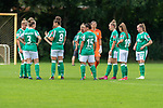 02.08.2020, wohninvest Weserstadion Platz 12, Bremen, GER,FSP, FLYERALARM, FFBL SV Werder Bremen vs  SV Henstedt-Ulzburg, <br /> <br /> <br /> <br />  im Bild<br /> <br /> Jana Radosavljevic (WerderBremen3)<br /> Sophie Walter (WerderBremen8)<br /> Jasmin Sehan (WerderBremen15)<br /> Tuana Keles (WerderBremen19)<br /> Nina Lührßen / Luehrssen (WerderBremen27)<br /> <br /> <br /> Foto © nordphoto / Kokenge