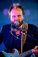 Admiral Freebee, Belgian singer-songwriter Tom Van Laere, at the Radio 1 Sessies (Belgium, 11/10/2010)