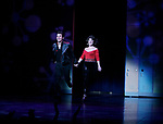 Derek Keeling & Anna Aimee White take bows as American Idol Heartthrob Ace Young makes his Broadway Debut in the Broadway Revival of GREASE at the Brooks Atkinson Theatre in New York City.<br />