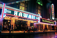 Historic Hawaii theater, located in downtown Honoulu, hosts some of the most contemporary performances in the islands