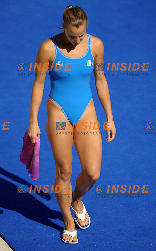 Roma 19th July 2009 - 13th Fina World Championships From 17th to 2nd August 2009....Springboard 1m Female final..Tania Cagnotto (ITA)....photo: Roma2009.com/InsideFoto/SeaSee.com