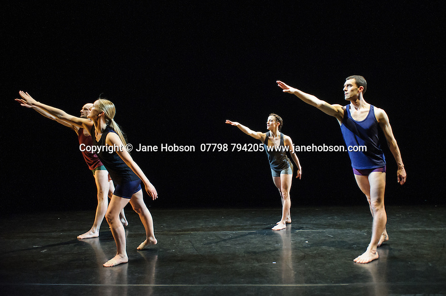 London, UK. 10.03.2015. Yorke Dance Project presents the premiere of Robart Cohan CBE's LINGUA FRANCA, in the Lilian Baylis Studio at Sadler's Wells. Photograph © Jane Hobson.