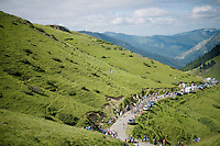 up the Port de Balès (HC/1755m/11.7km/7.7%)<br /> <br /> 2014 Tour de France<br /> stage16: Carcassonne - Bagnères-de-Luchon (237km)