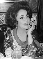 Elizabeth Taylor 1978<br /> Photo By Adam Scull/PHOTOlink/MediaPunch