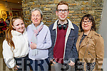 Attending the Mercy Mounthawk production of Hairspray in Siamsa Tire on Saturday.<br /> L to r: Nia Kirby, Helen Smith, Luke Healy and Cora Smith.