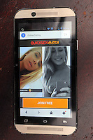 FAO NIGEL BARKLIE, DAILY MAIL PICTURE DESK<br /> Pictured: One of the porn sites on Mikey Howells phone that cannot be removed. Thursday 14 July 2016<br /> Re: Lisa Howells from Carmarthen, west Wales is angry after a TT Sims mobile phone she bought for her son Mikey from Tesco seems to have infections that cannot be removed, making the phone access porn sites even after factory re-sets have been done.