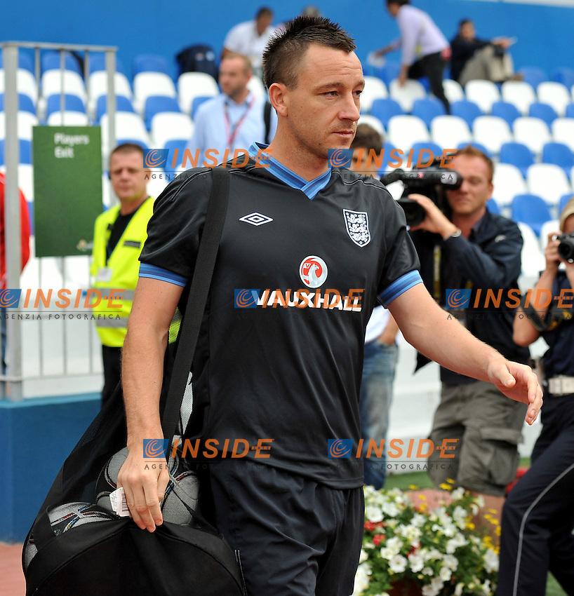"John TERRY (Inghilterra).Cracovia 22/06/2012  ""Hutnik"".Allenamento nazionale inglese presso lo Stadio Hutnik.Football Calcio Euro 2012.Foto Insidefoto Alessandro Sabattini..."