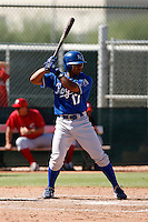 Jose Bonilla - Kansas City Royals 2009 Instructional League. .Photo by:  Bill Mitchell/Four Seam Images..