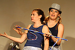 The Apple Sisters at Sketchfest NYC, 2008. Sketch Comedy Festival at the Upright Citizen's Brigade Theatre, New York City.