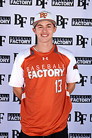 Colton Bowman (13) of Bullard High School in Bullard, Texas during the Baseball Factory All-America Pre-Season Tournament, powered by Under Armour, on January 12, 2018 at Sloan Park Complex in Mesa, Arizona.  (Mike Janes/Four Seam Images)