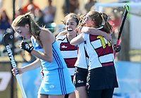 North Harbour Women celebrate winning the final against Northland. NHL Hockey, Blake Park, Tauranga, Sunday 22 September 2019. Photo: Simon Watts/www.bwmedia.co.nz/HockeyNZ