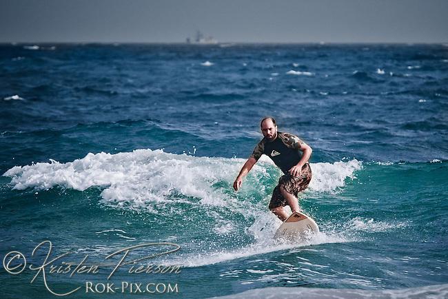 Brad Surfing Photos