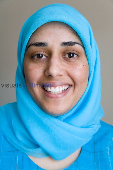 Portrait of a woman smiling MR