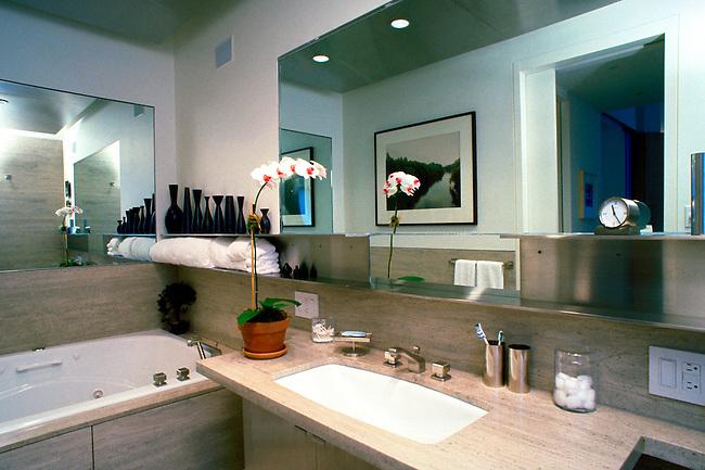 Bathroom, Residence, New York City
