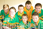 Knocknagoshell under thirteen soccer team who took part in the Community Games indoor Soccer Tournament in Mountcoal, Listowel on Sunday were Willie Poff, Kieran Cotter, Christy Barrett, Donagh Curtin, PJ Roche, Gearoid Kelly and Shane Browne..