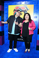 "LOS ANGELES - FEB 2:  Rico Rodriguez, Raini Rodriguez at ""The Lego Movie 2: The Second Part"" Premiere at the Village Theater on February 2, 2019 in Westwood, CA"